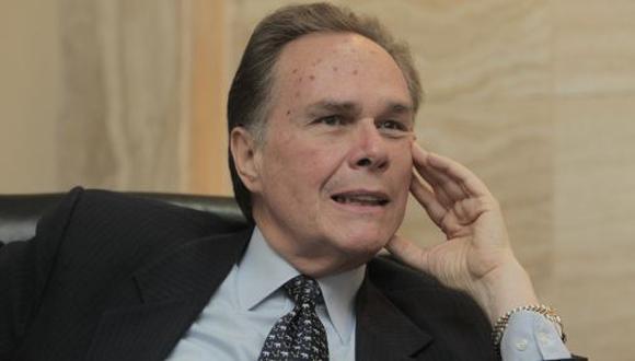 Forsyth Mejía pasó al retiro como embajador el pasado 27 de mayo por cumplir en dicha fecha 70 años de edad. (Foto: GEC)