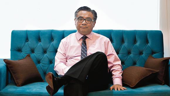 César Nakazaki. Abogado de Ollanta Humala. (Perú21)