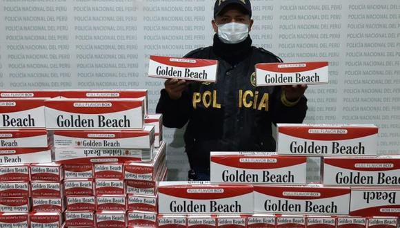 Cigarrillos son traídos al Perú mediante contrabando. (Difusión)