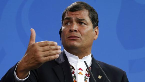 Rafael Correa. (Reuters)