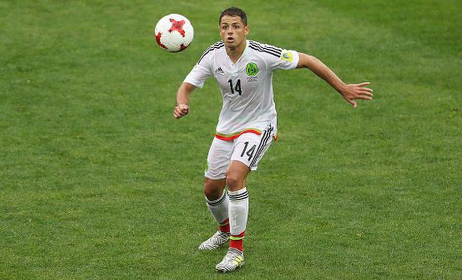 Javier Hernández juega en el Leverkusen desde el 2015. (Gettyimages)