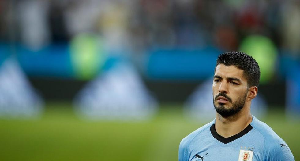 Luis Suárez aseguró que Griezmann desconoce el sentir uruguayo. (AFP)