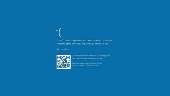 ¡Cuidado! La última actualización de Windows 10 provocaría la 'pantalla azul de la muerte' en tu computadora