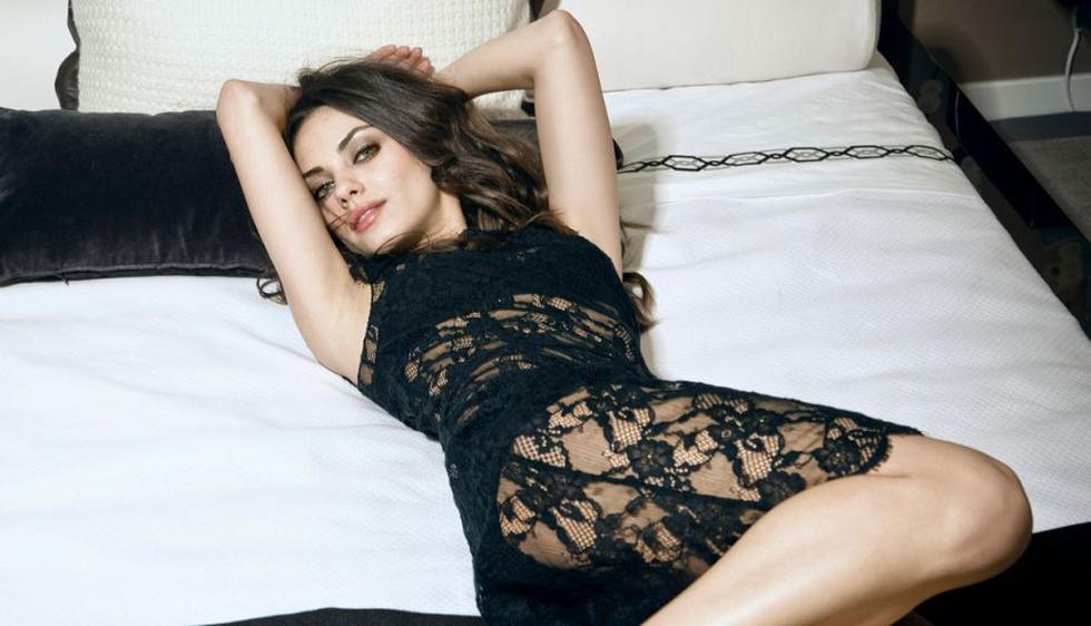La actriz Mila Kunis fue elegida por la revista como la más sexy del 2013. (Internet)