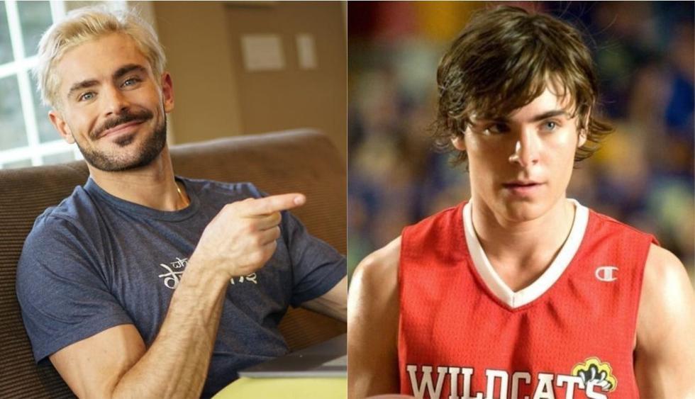 """Zac Efron podría volver a interpretar a 'Troy Bolton' en la nueva serie de """"High School Musical"""". (Foto: @zacefron/Disney)"""