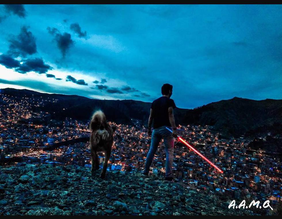 Esta noche estará iluminada de decenas de espadas láser. (Foto: Facebook Sables de Luz Peru)