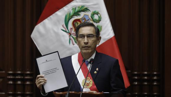 Martín Vizcarra se convierte en tendencia global en Twitter tras anuncio de adelanto de elecciones (Anthony Niño de Guzmán/GEC)