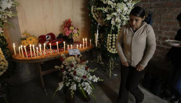 DOLOR DE MADRE. Vilma Sánchez no puede superar la pérdida de su hija y evalúa regresar a su natal Huancavelica. (R. Cornejo)