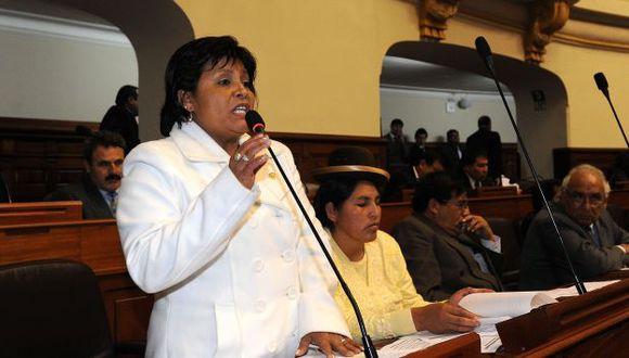 PERLA NACIONALISTA. Congresista Saavedra habría pasado de denunciante a beneficiada, según audio. (Difusión)