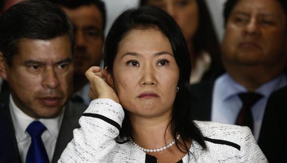 Keiko Fujimori podría cumplir hasta 30 años y 10 meses de prisión ante el pedido del fiscal José Domingo Pérez. (Foto: GEC)