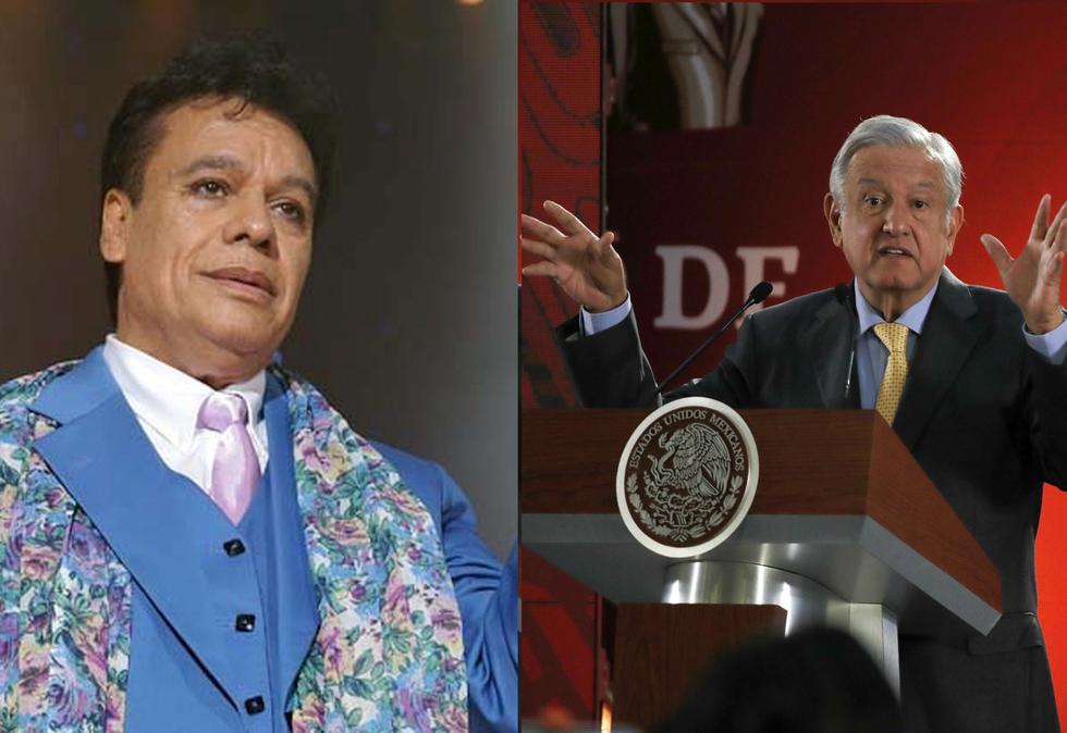 Andrés Manuel López Obrador aseguró que tenía una amistad con el cantante. (Foto: EFE)