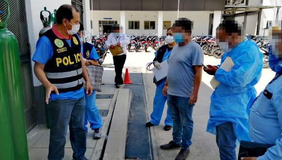 San Martín: Fiscalía investiga presuntas irregularidades en reparación de planta de oxígeno del Hospital II 2 de Tarapoto. (Foto Fiscalía de Tarapoto)