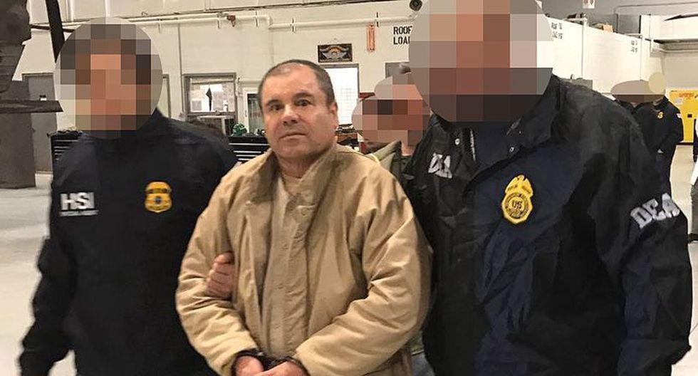 """Para evitar riesgos en el juicio de """"El Chapo"""" Guzmán, los nombres de los jurados se mantienen anónimos y cada día serán escoltados por alguaciles armados.   Foto: AFP"""