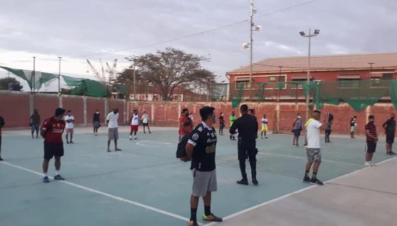 PNP y comuna de Talara participaron en la intervención. (Foto: Municipalidad de Talara)