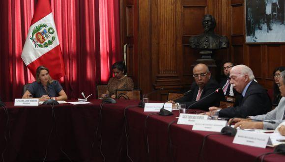 El vocero de Fuerza Popular, Carlos Tubino, solicitó en la Comisión de Inmunidad Parlamentaria esperar la opinión de la Comisión de Constitución (Foto: Rolly Reyna / GEC)