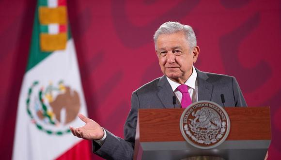 Andrés Manuel López Obrador informó  que cada semana se realiza una prueba de coronavirus. (Foto: EFE/PRESIDENCIA)