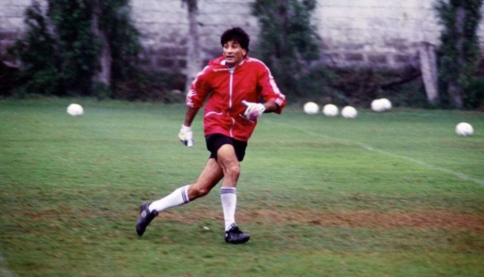 En la selección peruana  fue ídolo tras nacionalizarse y jugar las Eliminatorias paraFrancia 1998. (Archivo histórico El Comercio)