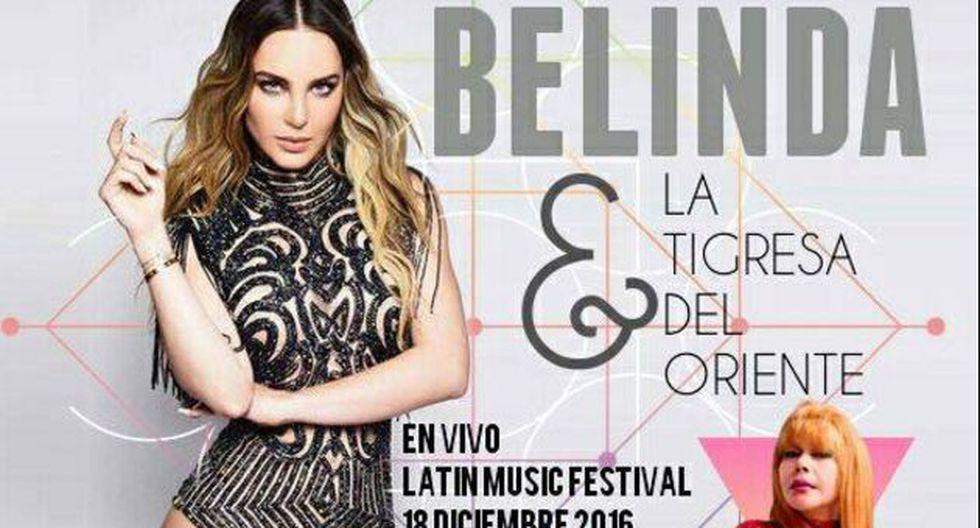 Belinda negó que cantará junto a 'La Tigresa del Oriente' en México. (Facebook)