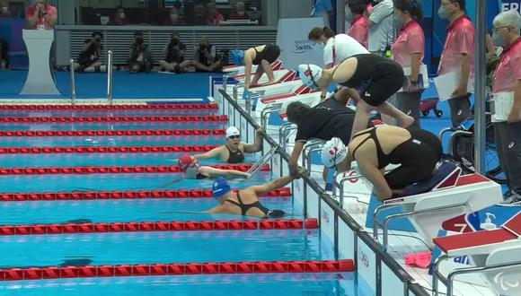 Dunia Felices participará en los 50 metros estilo mariposa. (Foto: Twitter)
