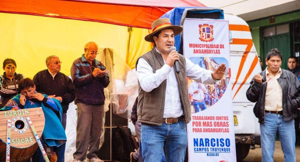 Narciso Campos Truyenque es investigado por presuntas irregularidades durante su gestión, entre los años 2015 y 2018. (Foto: Facebook)