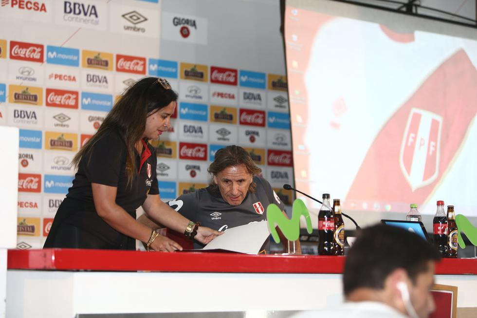 Romina Antoniazzi es la jefa de prensa de la FPF.
