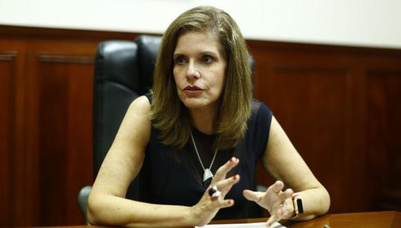 Aráoz también es la segunda vicepresidenta de la República.