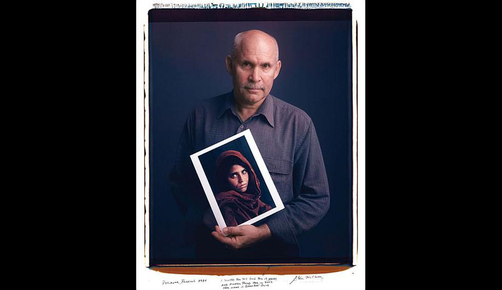 Steve McCurry – La niña afgana. (Behind Photographs/Tim Mantoani)