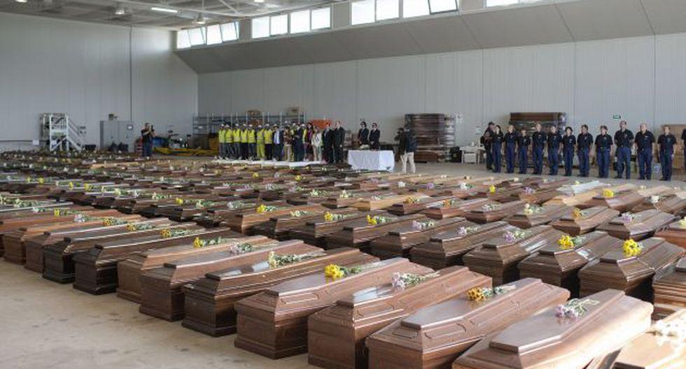 Cifra de muertos superó los 300. (EFE)
