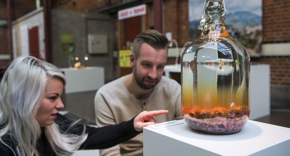 La exposición también da a conocer recetas inauditas como un pene de toro o un queso repleto de gusanos. En Suecia estará abierta hasta el 27 de enero del próximo año. (AFP)