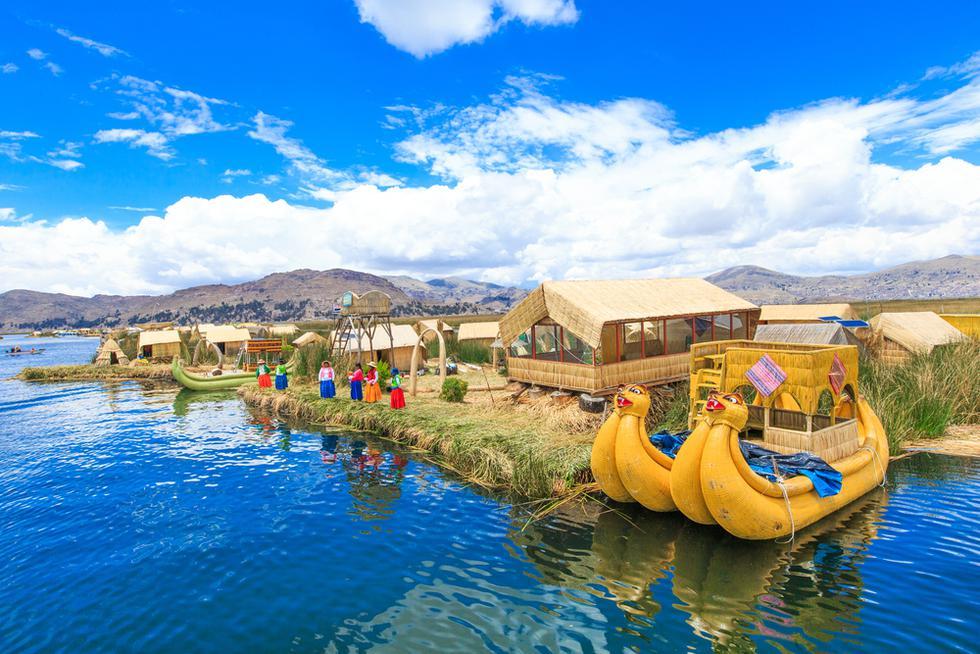 A mamá le encantará navegar sobre el lago más alto del mundo, el Titicaca, en Puno. (Foto: Difusión UTP)