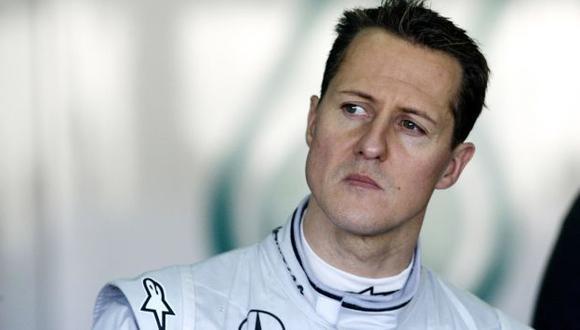 Revelan robo de las fichas médicas de Michael Schumacher. (AFP)
