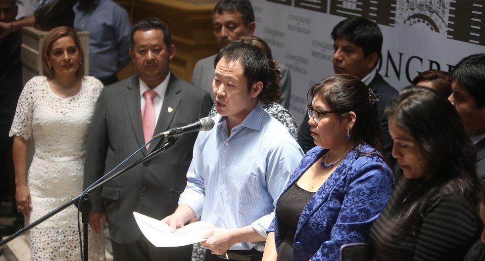 Datum: El 90% afirma que Kenji, Bocángel y Ramírez deberían ser desaforados (César Campos/Perú21)
