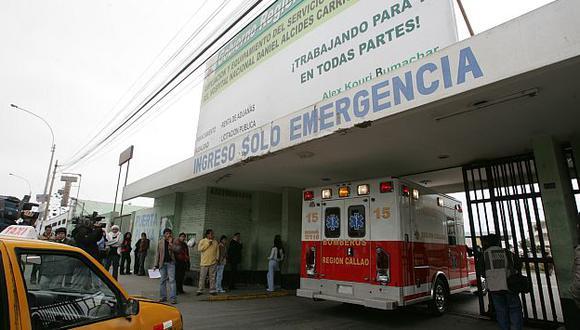 Fue asesinada al interior del hospital. (USI)