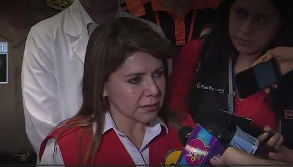 Titular del MINSA se pronuncia sobre estado de víctimas de incendio en Villa El Salvador. (Canal N)
