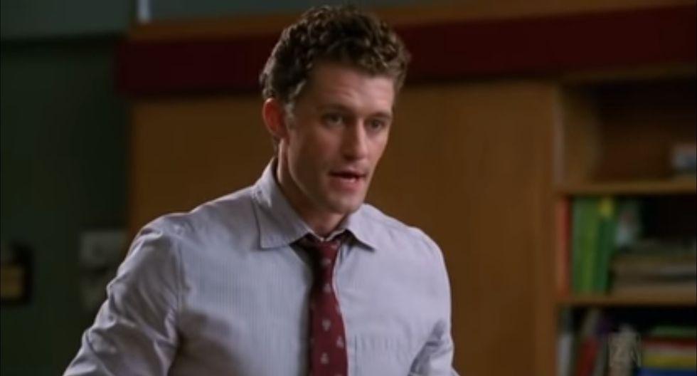 "Matthew Morrison interpretó al motivador profesor ""Will"" Schuester en la teleserie juvenil Glee.(Foto: Captura de YouTube)"