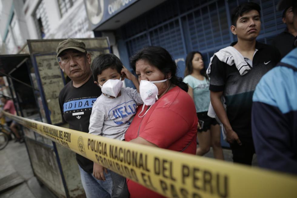 Las brigadas de salud vienen brindando, hasta el momento, un total de 1103 atenciones a todas las personas afectadas y damnificadas.(Anthony Niño de Guzmán/GEC)
