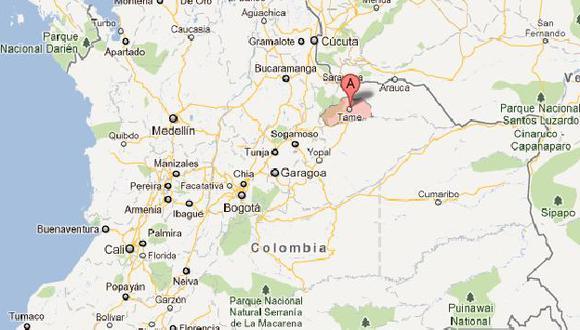 Ataque se perpetró en el caserío de Puerto Jordán. (Google Maps)