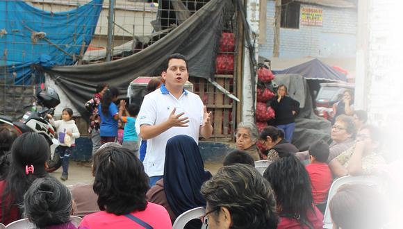 Congresista José Luna Morales es el séptimo caso positivo en el Congreso y el quinto en su bancada, Podemos. Foto: GEC