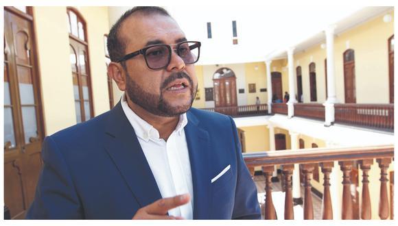 El alcalde de Chiclayo, Marcos Gasco Arrobas, señaló que irá contando su caso para que los ciudadanos entiendan lo que atraviesa. (Foto: Difusión)