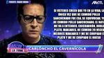 Polémico audio de Carloncho contra Rosángela Espinoza