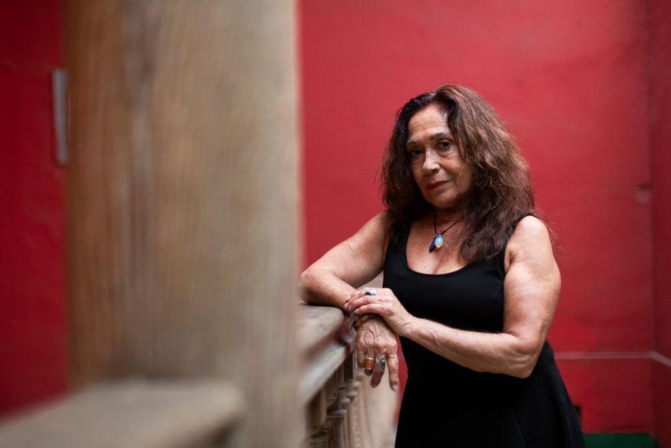 """""""Están las estadísticas, están las marchas, hay proyectos de ley, pero no se detienen los asesinatos contra las mujeres. Se necesita una orientación de género"""", dice la actriz (Renzo Salazar/Perú21)."""