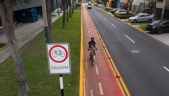 Municipalidad de Lima: realizan mantenimiento a 25 kilómetros de ciclovía en 8 distritos (Foto: Municipalidad de Lima)