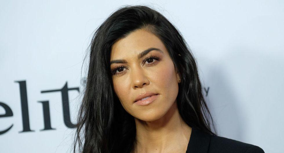 Kourtney Kardashian le roba protagonismo a Kendall Jenner con estas fotos. (Foto: AFP)