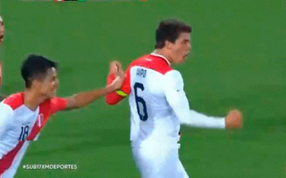 Perú enfrenta a Chile en el hexagonal del Sudamericano Sub 17. (Foto: Captura)