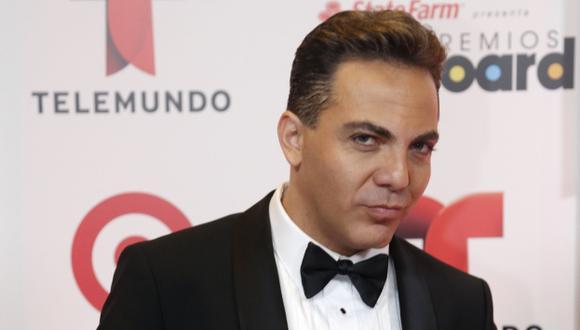Cristian Castro promociona un nuevo disco. (AP)