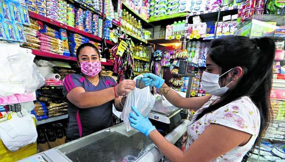 El nivel de cumplimiento del distanciamiento social por parte de los consumidores cuando están dentro de los locales comerciales es de solo 53% en promedio.