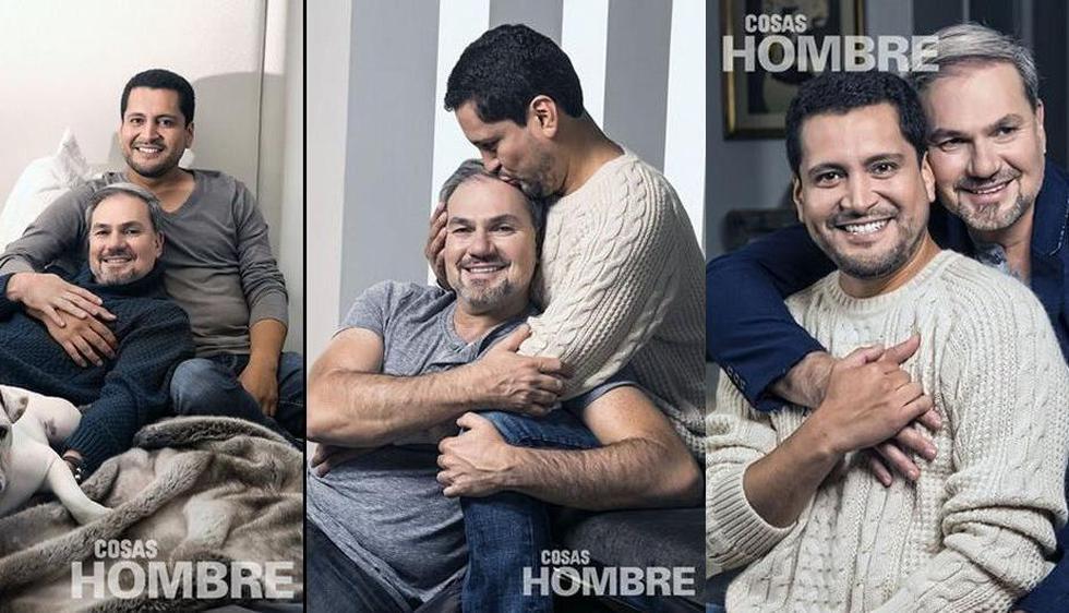 Mauricio Fernandini y Antonio Zegarra tienen una relación de tres años. (Cosas Hombre)