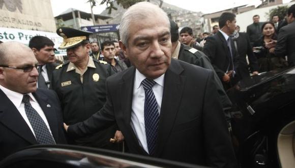 Versión de parte. Pedraza asegura que la propuesta del Ejecutivo se enmarca en la Constitución. (César Fajardo)