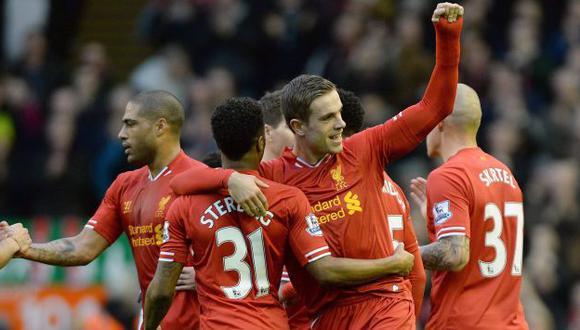 Liverpool ganó 4-3 al Swansea. (EFE)