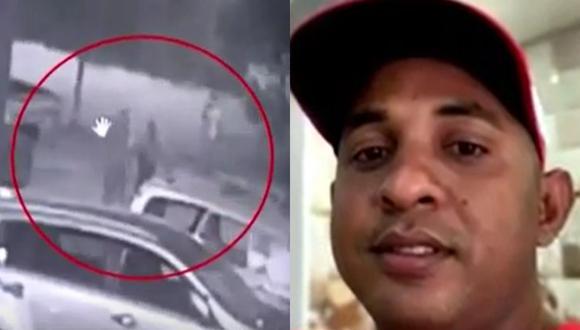 Asesinato de hombre ocurrió la noche del martes en un parque de San Martín de Porres. (Captura: América Noticias)